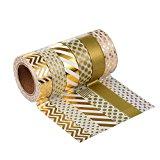 Mudder Washi Tape Masking tape Dekoband, 6er Pack (Farben-Set4)