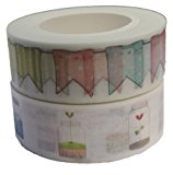 Washi Masking Tape 2er Set