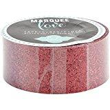 American Crafts Heidi Swapp 10268595Schablone zum Festzelt Love rot glitter Washi Tape 2,2°, 10