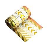 Washi Tape 6er Set Dekobänder Klebeband Masking Tape Reispapier - Très Chic Mailanda