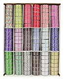 Washi Tape Dekoband 108-teilig DIVERSE COLLECTION 15 mm x 3 m
