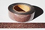 wolga-kreativ Washi Tape Glitzer bronze Masking Tape Dekoband
