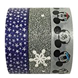 Disney Mickey Mouse Tape Works Tape & AllyDrew Stars / Glitter Washi Tapes (set of 3) by AllyDrew