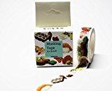wolga-kreativ Washi Tape in Box Sushi Kawaii Masking Tape Dekoband