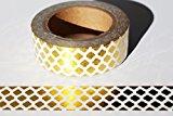 wolga-kreativ Washi Tape Gold Muster Masking Tape Dekoband