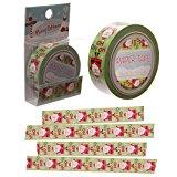 Weihnachtsmann-Klebeband ~ selbstklebendes Geschenkband ~ 10m ~ 1,5 cm breit