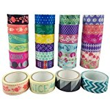 AUFODARA Washi Tape Dekoband 10er Set