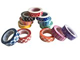 Jumbo-Set Washi Tapes, 12*10m, EWT-15-A-0040-1 - mehr als 100 Meter Washi-Tape!