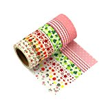 6er Set Washi Tape Très Chic Mailanda Masking tape Klebeband Dekoband  Decorative