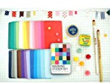 Washi Ver. Farbe Masker Tape Craft Sticker/Scrapbooking Kennzeichnung Diary Deco - Dose Set