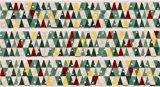 Dreieck Weihnachtsbaum Weihnachts mt Washi Klebeband Gold Metallic